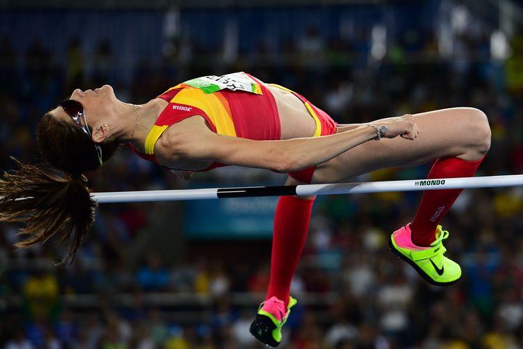 西班牙37歲跳高女將  拼勁十足終摘金