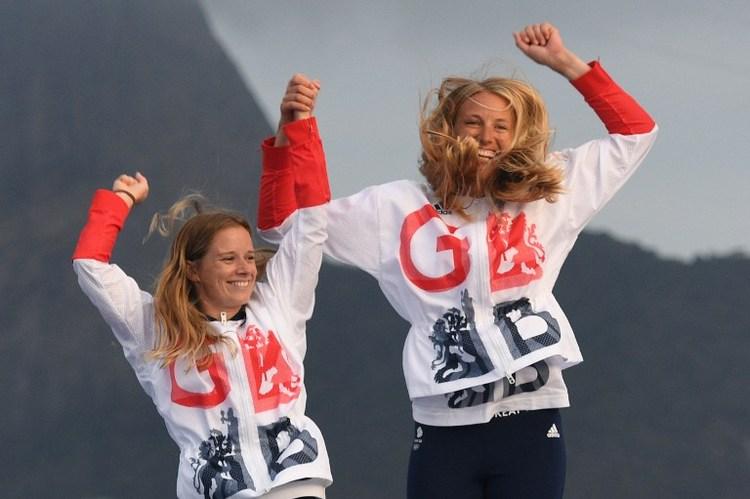 帆船女子雙人小艇470  英奪金