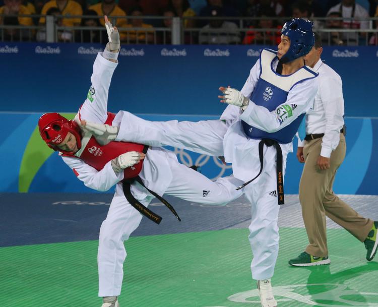 劉威廷扳倒世界第1 奧運跆拳道晉8強