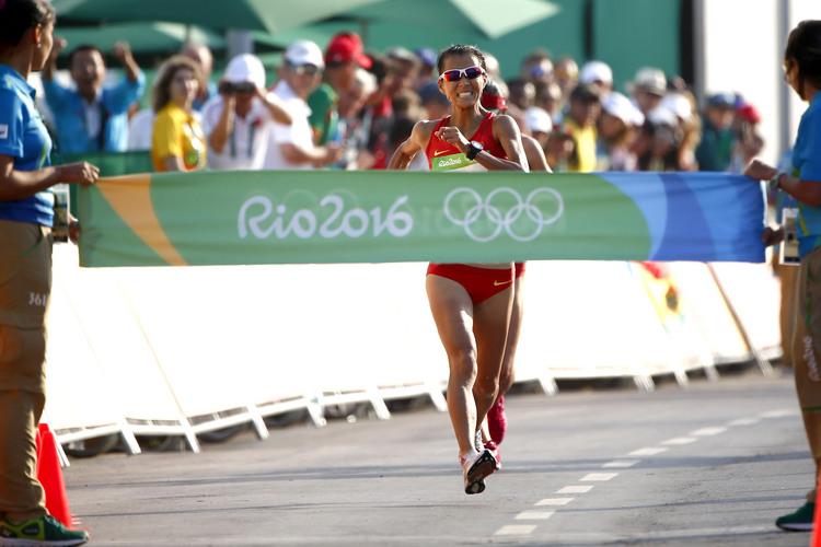 奧運女子20公里競走金牌:20米絕殺