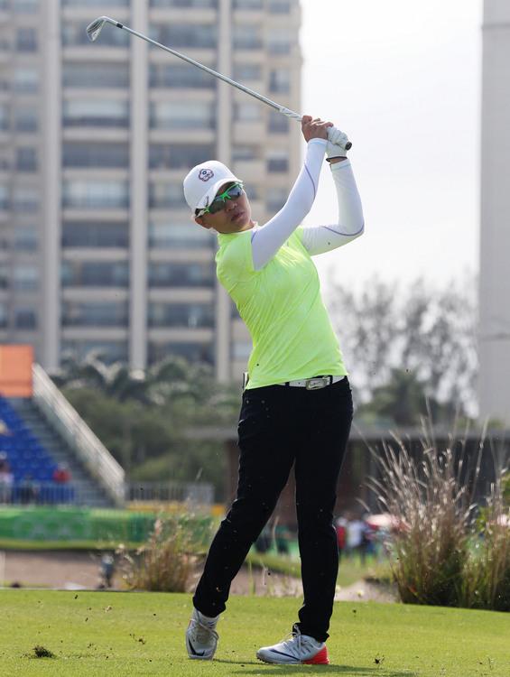 奧運女子高球 中華隊奪牌無望