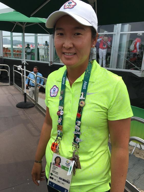 奧運除了高球 龔怡萍得意集60個徽章