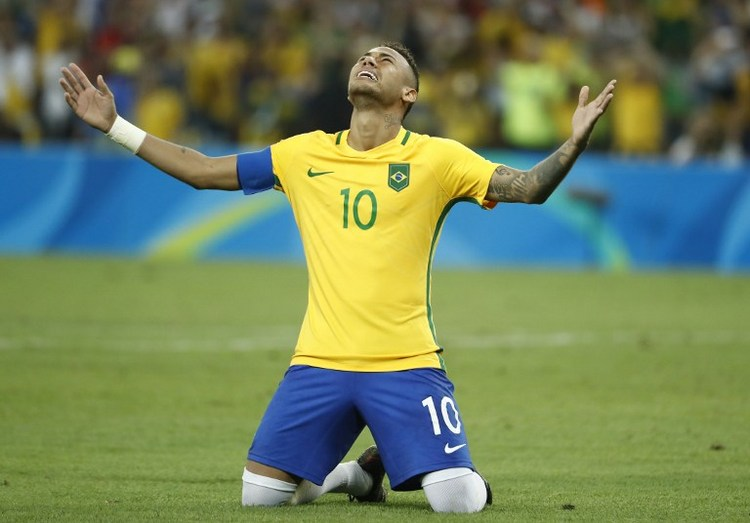 男子足球  巴西奪得史上首面奧運金牌