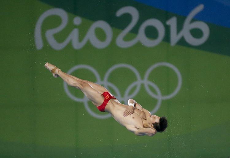 奧運男子10公尺跳水  大陸陳艾森奪金