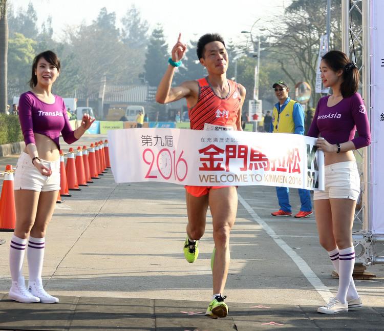 奧運最終站 中華男子馬拉松亮相