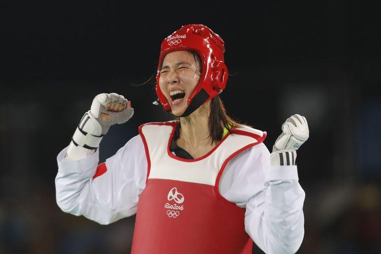 大陸女子跆拳道奧運奪金  累計25金