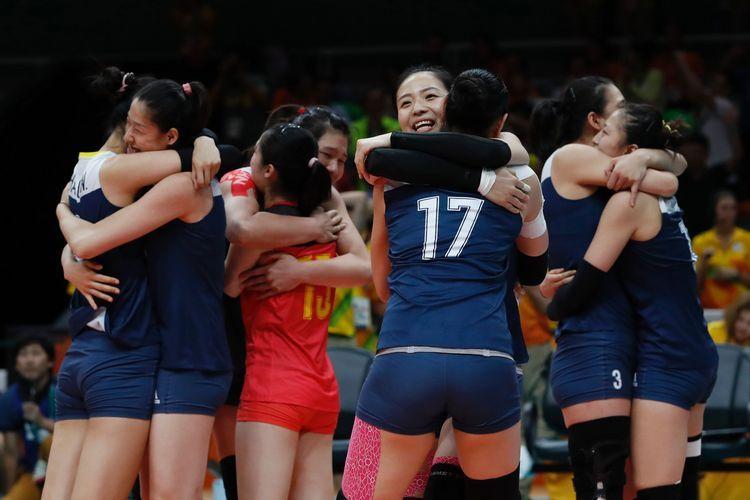 奧運中國女排奪金  總教練郎平最風光
