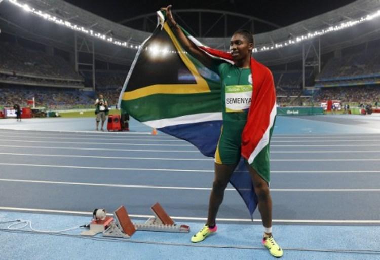 瑟夢雅奪金  南非創96年最佳奧運總成績