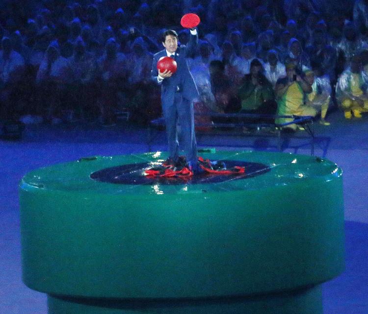 奧運落幕東京接棒  日首相扮瑪利歐宣傳