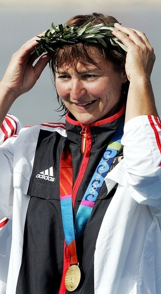 東德輕艇女選手比吉特.費雪