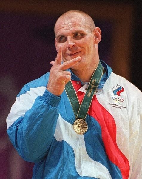 俄羅斯摔角選手卡列林