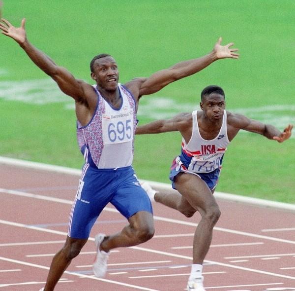 奧運史上年紀最大百米金牌─克里斯蒂