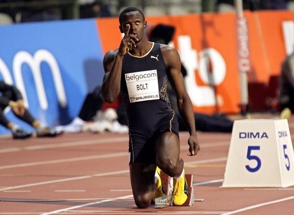 男子短跑健將閃電波特