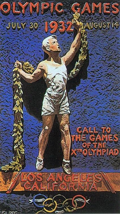 1932年第十屆洛杉磯奧運 Los Angeles (美國 洛杉磯):中華民國首度派選手劉長春參賽 台灣留日學生張星賢代表日本參賽