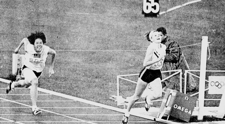 1968年第十九屆墨西哥奧運 Mexico City (墨西哥 墨西哥市):飛躍羚羊紀政田徑摘銅 奧運史上亞洲女子短跑第一面獎牌