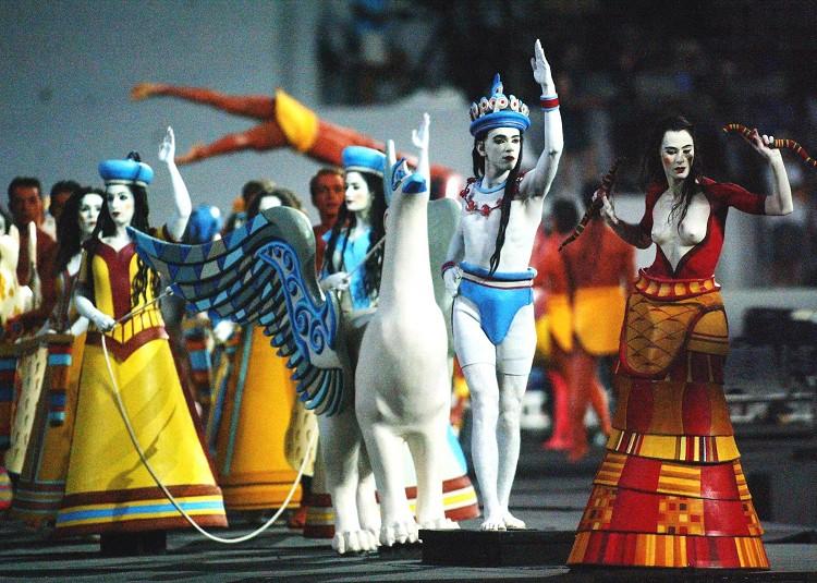 2004年第二十八屆奧運重返聖城雅典 Athens (希臘 雅典):防範恐怖攻擊高度警戒  中華台北勇奪2金2銀1銅