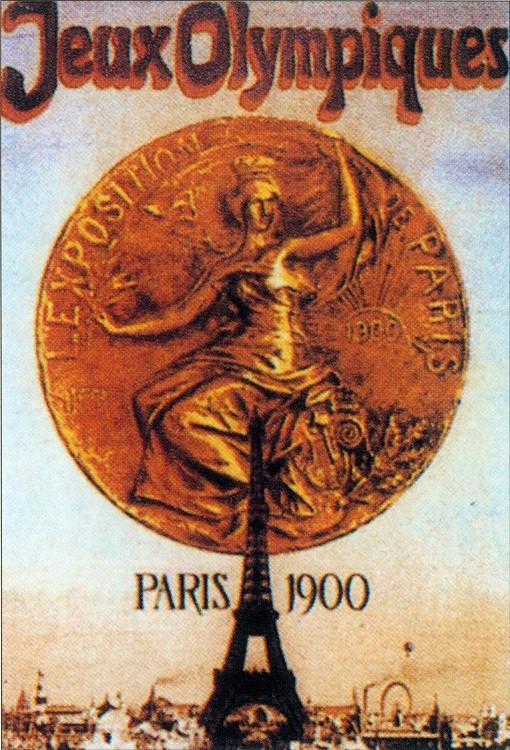 1900年第二屆巴黎奧運 Paris (法國 巴黎):奧運會成世博會附庸 沒有開閉幕