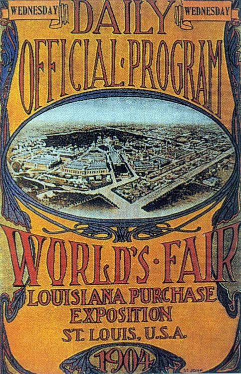 1904年第三屆聖路易奧運會 St.Louis (美國 聖路易):參賽國最少  戲稱「美國運動會」
