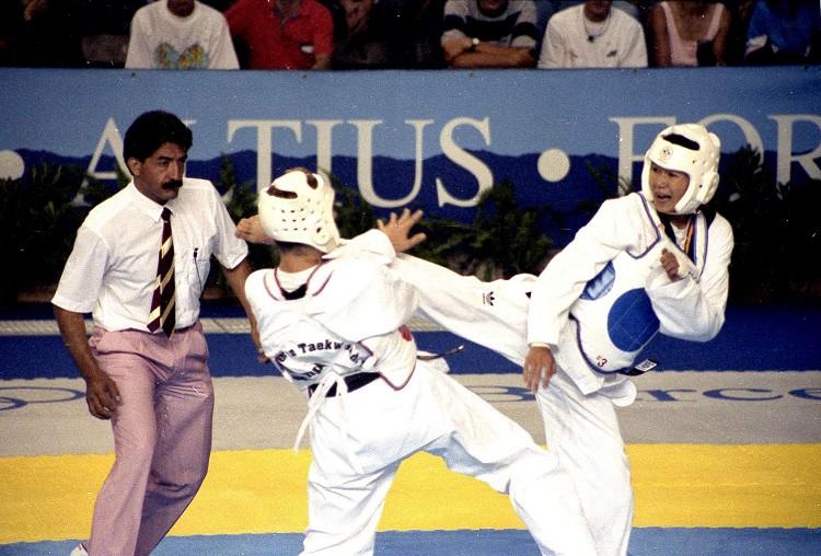 陳怡安兩屆奧運跆拳表演賽獲兩金 帶動台灣跆拳運動風潮