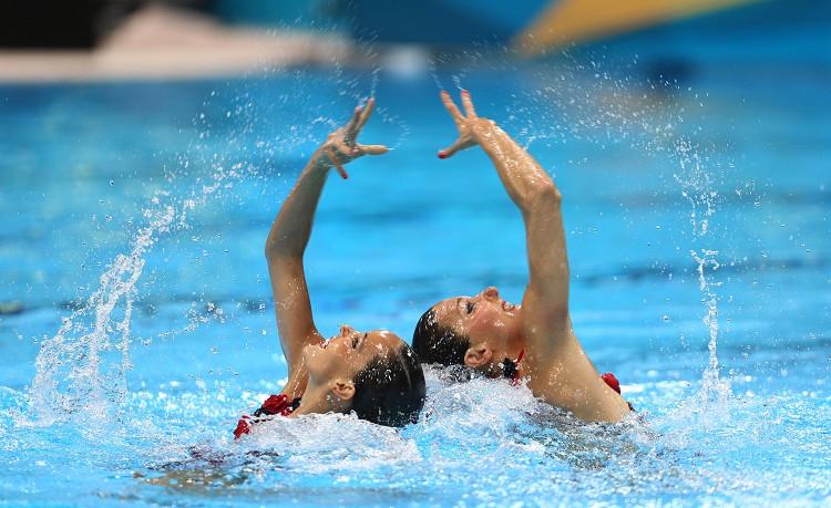 水上芭蕾 Synchronized Swimming