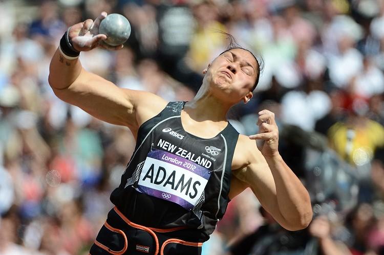 紐西蘭鉛球女傑亞當斯