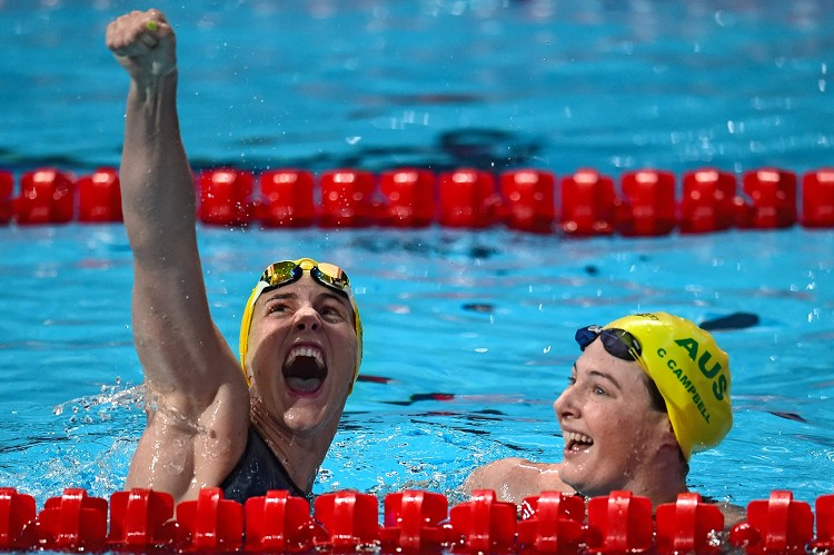 澳洲泳將布朗蒂‧康貝爾