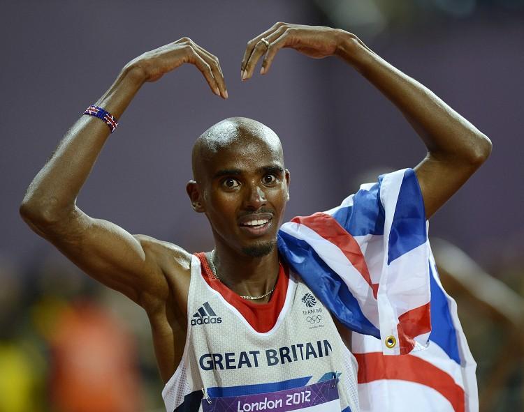 英國長跑選手法拉