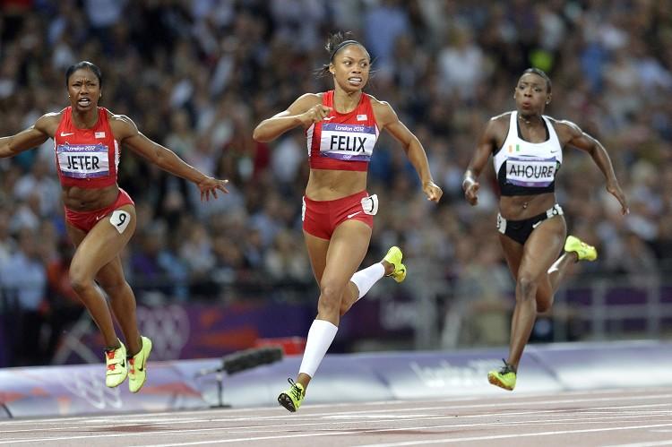 美國短跑女將菲麗絲