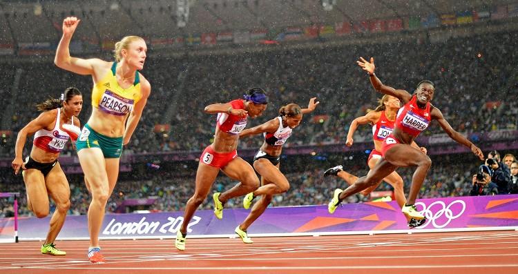 澳洲女子跨欄健將莎莉皮爾遜