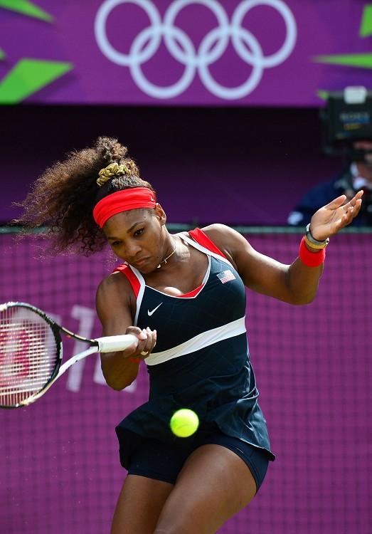 美國網球女霸王小威廉絲