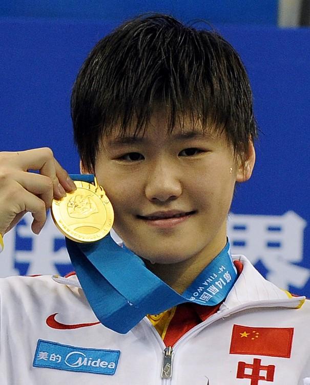 中國大陸泳壇金牌女將葉詩文