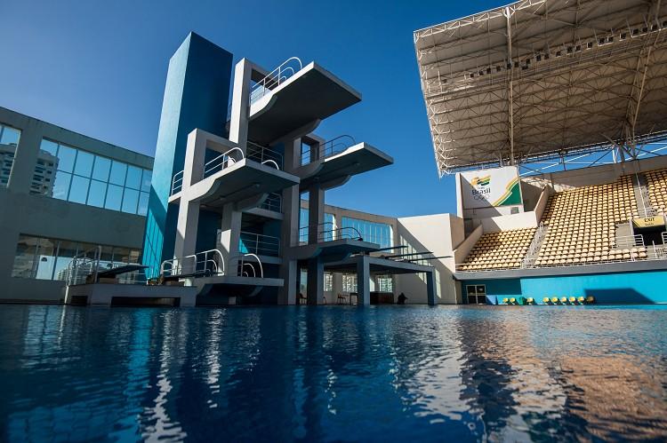 奧林匹克公園(Barra Olympic Park)瑪莉亞林柯水上運動中心(Maria Lenk Aquatics Centre)
