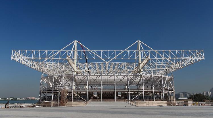 奧林匹克公園(Barra Olympic Park)奧運水上球場(Olympic Aquatics Stadium)