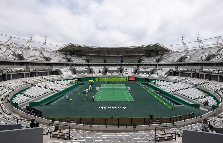 奧林匹克公園(Barra Olympic Park)奧運網球中心(Olympic Tennis Centre)