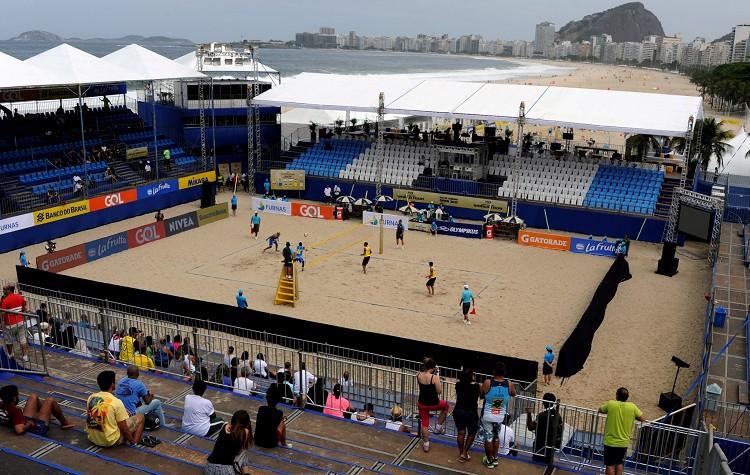 海灘排球體育館(Beach Volleyball Arena)