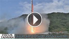 Taiwan aims to build satellite launchers