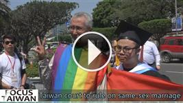 Taiwan court to rule on same-sex marriage