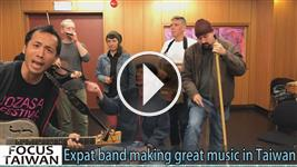 Expat band making great music in Taiwan