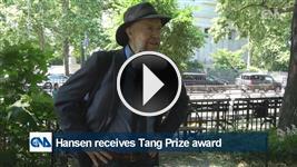 Hansen receives Tang Prize award