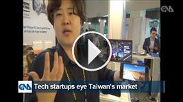 Tech startups eye Taiwan