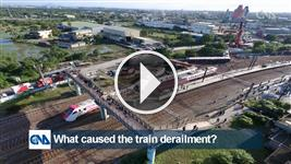 What caused the train derailment?