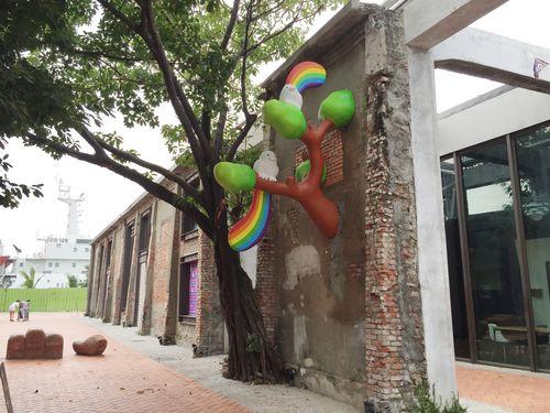Kaohsiung warehouses transformed into popular art venue