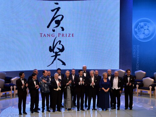 Tang Prize laureates touted for contributions to science, humanities