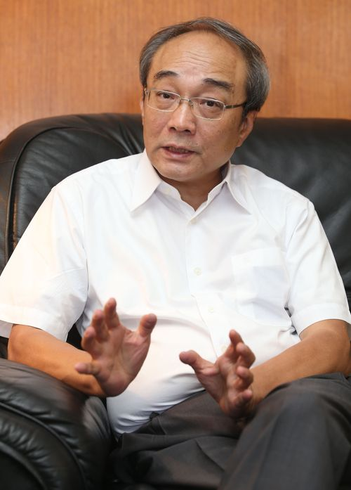Academia Sinica Vice President Wang Fan-sen