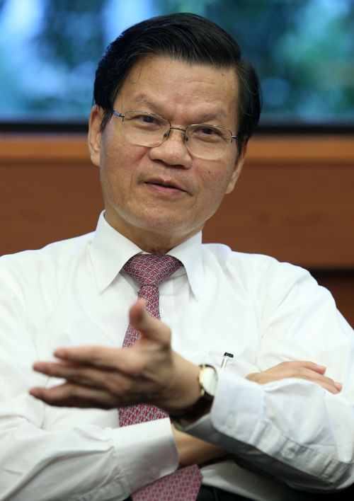Academia Sinica President Chi-Huey Wong.