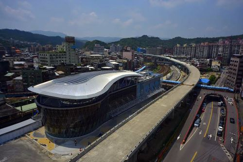 Keelung Railway Station. (Photo courtesy of the Railway Reconstruction Bureau)