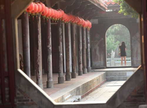 Largest Lungshan Temple in Taiwan is in Changhua, not Taipei
