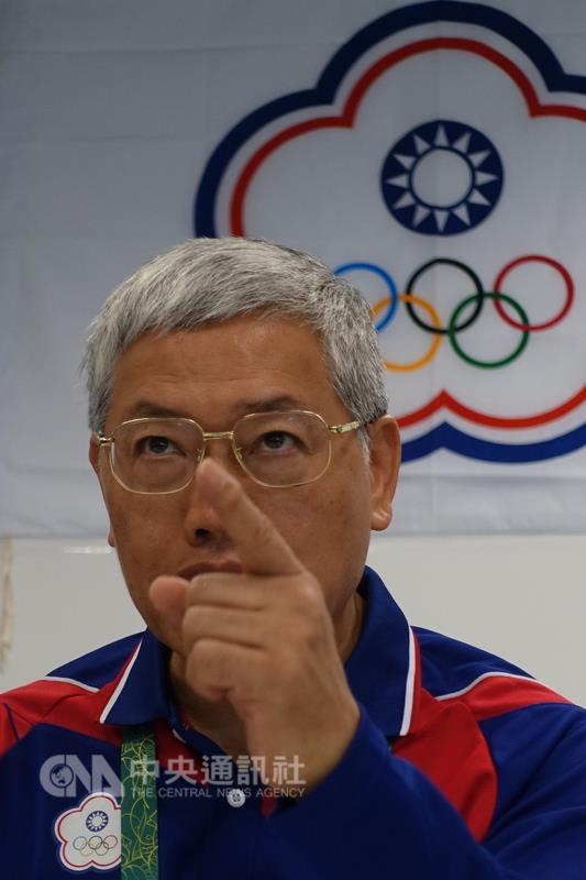 Steven Chen (陳士魁), vice president of the Chinese Taipei Olympic Committee, talks about the suspension in Rio.