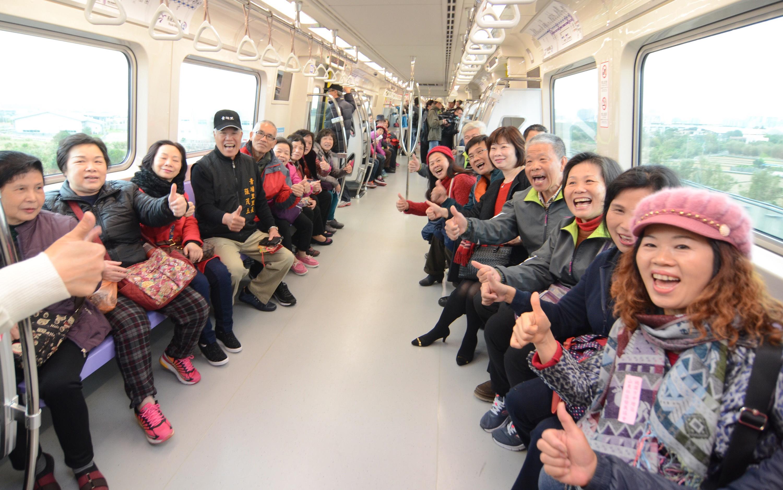 A glimpse inside Taiwan's airport MRT