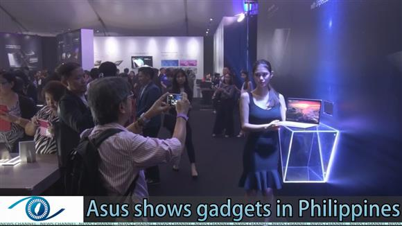 Asus shows tech gadgets in the Philippines